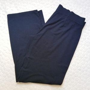 Eileen Fisher black casual pants lounge medium